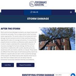 Storm Damage Repair In Rhode Island