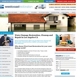 Los Angeles Water Damage