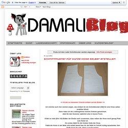Damali: Schnittmuster
