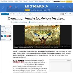 Damanhur, temple de tous les dieux