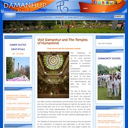 Damanhur - Welcome Office and University - Visit The Temples of Humankind