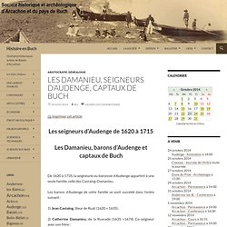 Les Damanieu, seigneurs d'Audenge, captaux de Buch