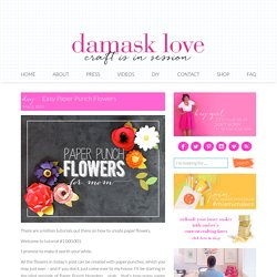 damask love | craft is in session