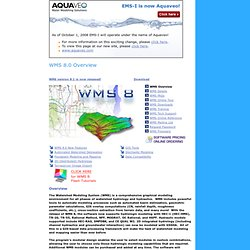 WMS - dambreak modeling, dam breach modeling, flood wave modeling ...