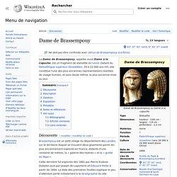 Dame de Brassempouy