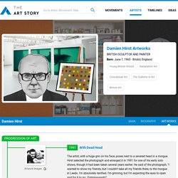 Damien Hirst Artworks & Famous Art