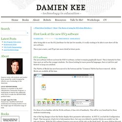 Damien Kee - Home - First Look at the new EV3 software