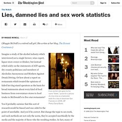 Lies, damned lies and sex work statistics