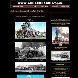 Dampf-Lokomotiven in USA - der Big Boy u.a.