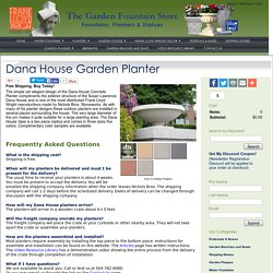 Dana House Garden Planter
