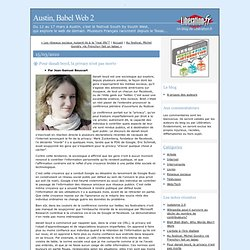 Pour danah boyd, la privacy n'est pas morte - Austin, Babel Web 2
