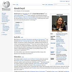 Danah Boyd