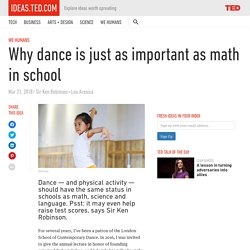 Why dance class is just as important as math class