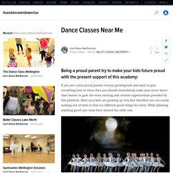 Dance Classes Near Me