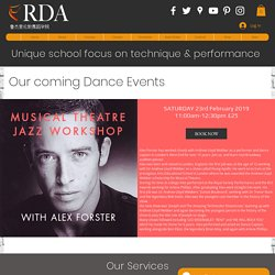 Private Dance workshops & Theater at RDA Academy London