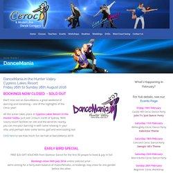 DanceMania - Ceroc and Modern Jive Dance Company