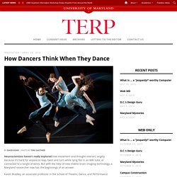 How Dancers Think When They Dance ‹ TERP
