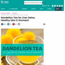 Dandelion Tea for Liver Detox, Healthy Skin & Stomach
