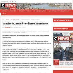 Dandicolle, première vélorue à Bordeaux