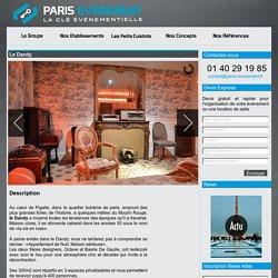 Le Dandy : location de salle à Paris, soirée, gala, cocktail, repas
