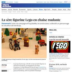 Danemark: La 1ère figurine Lego en chaise roulante - Vivre