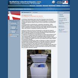 2006/12/14> BE Danemark14> Un réfrigérateur solaire pour les vaccins