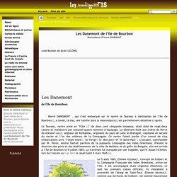 Les Danemont de l'île de Bourbon - Le50enligneBIS