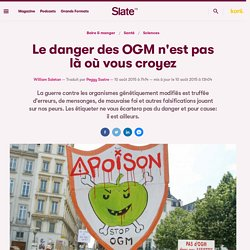 Le danger des OGM n'est pas là où vous croyez