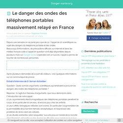 Le danger des ondes des téléphones portables en France