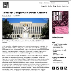 The Most Dangerous Court in America