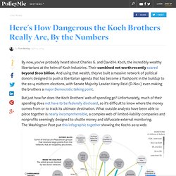 Here's How Dangerous the Koch Brothers Really Are, By the Numbers