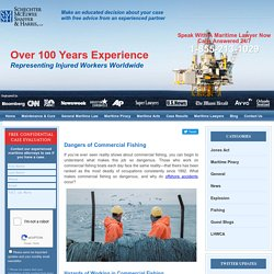 Dangers of Commercial Fishing