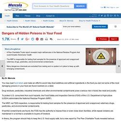 Dangers of Hidden Poisons in Your Food
