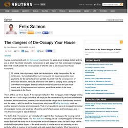 The dangers of De-Occupy Your House