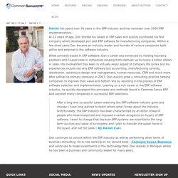 Daniel Carr - ERP Consultant