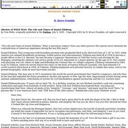 Daniel Ellsberg and the Pentagon Papers