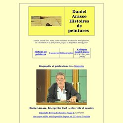 Daniel Arasse - Histoire de peintures