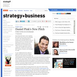 Daniel Pink's New Pitch