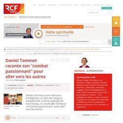 """Daniel Tammet raconte son """"combat passionnant"""" pour aller vers les autres"""