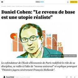 """Daniel Cohen: """"Le revenu de base est une utopie réaliste"""" - Bibliobs - L'Obs"""