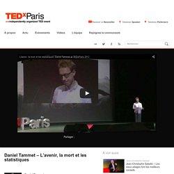 Daniel Tammet : L'infini est le seul futur possible