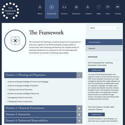 Danielson Group » The Framework