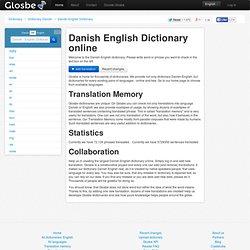 dictionary danish english
