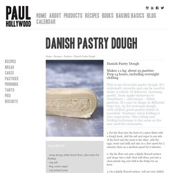 Danish Pastry Dough