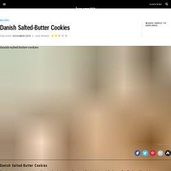Danish Salted-Butter Cookies Recipe