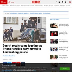 Danish royals come together as Prince Henrik's body moved to Amalienborg palace