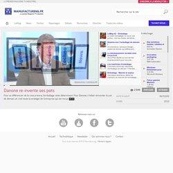 Danone re-invente ses pots - WebTV