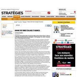 Danone fait rimer écologie et business