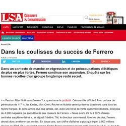 Dans les coulisses du succès de Ferrero