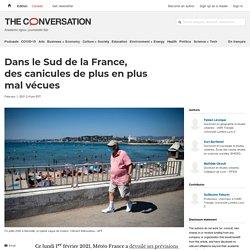 Dans le Sud de la France, descanicules de plus en plus mal vécues